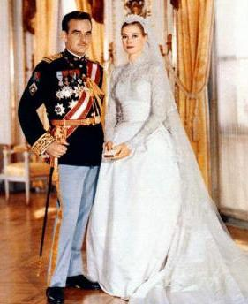 foto pernikahan Grace Kelly