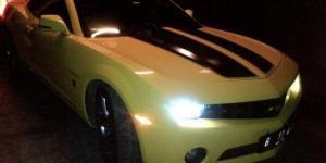 Mobil Sport Bumblebee Camaro Raffi Ahmad